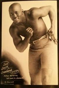 Pick 3 jack Johnson heavyweight boxing pose photos or $6ea