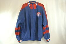 Pro Player Montreal Expos Reversible Pullover Windbreaker Half Zip Vtg 90s