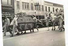 5 photos, WW2 era Masonic Parade in MACON, GEORGIA World War 2 Joseph Neel store
