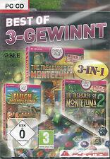 Pc CD + best of 3 gagne + 3 versions complètes + Moctezuma + win 7