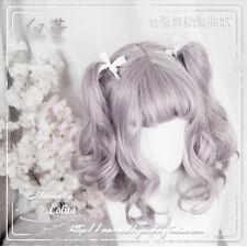 Lolita Hime Dolls Mori Girl Sweet Harajuku Princess Culry Cosplay Daily Wig#k40