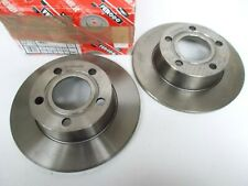 Rear Brake Discs - 255mm x 54mm High - PR.0N5 for Audi A6 Quattro Avant 4B5, C5