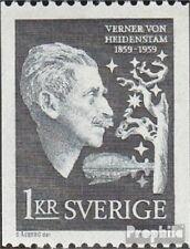 Suède 450C neuf avec gomme originale 1959 v. v. heidenstam