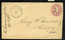 """Cover """"Star"""" Fancy Cancel Patchogue NY 3 Cent Washington  US C43"""