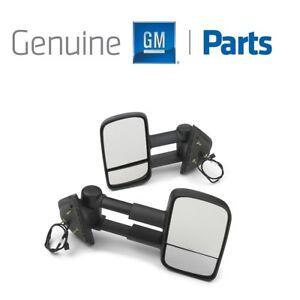 For Chevrolet Silverado GMC Sierra Power Camper Mirror Kit DL8 GM Genuine OEM