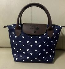 "Walt Disney Mickey Mouse Bag Handbag Dark Blue Purse Shop Shoulder Bag 8""x12"""