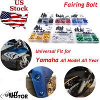 For Yamaha YZF600R Thundercat 1996-2007 CNC Fairing Bolt Kit Bodywork Screw Blue