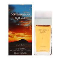 Light Blue Sunset In Salina by Dolce Gabbana for Women 1.7 oz EDT Spray New