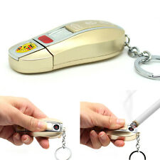 Windproof Rechargeable Flameless Cigarette USB E-Lighter Lighthers Car Key Gift