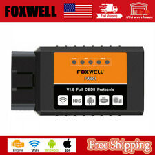 Foxwell ELM327 WIFI Erase Errors Code Reader Diagnostic scanner for Android IOS
