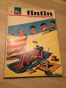 TinTin, Le Super Journal des Jeunes,Album N°45, Édition française, 260 Pages