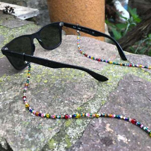 UK Glasses Neck Cord Strap String Lanyard Chain Sunglasses Reading Spectacles