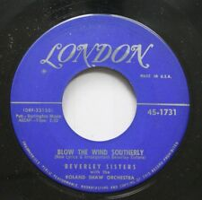 50'S & 60'S 45 Beverley Sisters With The Roland Shaw Orchestra - Blow The Wind S