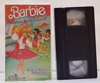 Barbie Rockin' Back To Earth Fifties Fun! VHS PAL Video Tape 80s Kids Children