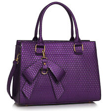 Women's Large Size Tote Bag Nicw Bow Shoulder Handbag Bags School A4 For Her