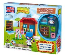 Bizarre Bazaar Store Playset Moshi Monsters Mega Bloks Building Bricks | 80623