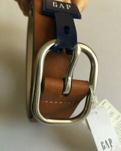 Women's GAP Brown Belt Synthetic Leather RRP £19.99 in sizes Small or Medium