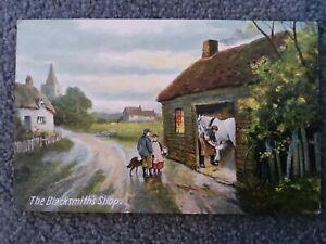 Commercial Series Postcard, The Blacksmiths Shop, J.W.B Series 310