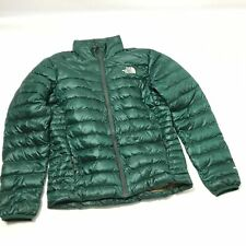 The North Face Mens Quilted Winter Jacket Long Sleeve Solid Green Size S G23