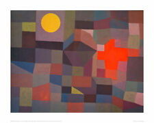 Fire by Moonlight - Paul Klee - Fine Art Giclee Print Poster (Various Sizes)