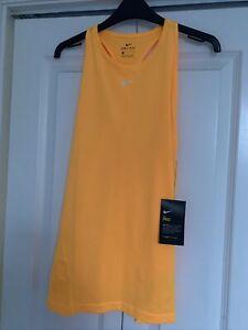 Womens Nike Pro Running Vest Dri Fit -  Slim Fit Size Large BNWT