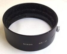 Nikon Lens Hood HK-11 for Nikkor 35-105mm f3.5-4.5 Nikkor Ai-s Genuine Original
