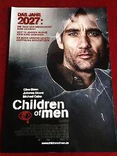 Children of Men Kinoplakat Poster A1, Clive Owen, Julianne Moore