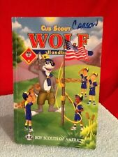 Cub Scout Wolf Handbook Boy Scouts 2011 Printing Used