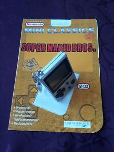 NINTENDO mini classic Super Mario Bros. inkl Heft 1998 Gameboy Retro