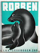 Lux-Lesebogen 260 - ROBBEN