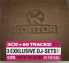 Kontor Top of the Clubs, Vol. 39 - 60 Various Tracks On 3 Discs (3CD 2008) NEW