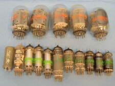 (16) VINTAGE Vacuum Tubes 6GE5 6BQ5 ,6N0120T SM5LS,12ax7a,5651WA