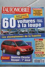 L'automobile - N° 584 - Jaguar XJR - Fiat Ulysse - BMW M3 - Cadillac Eldorado 95