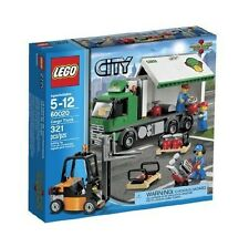 60020 Cargo Truck city town lego New sealed legos set Fork Lift forklift retired