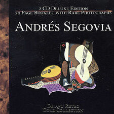 ANDRES SEGOVIA Gold Collection Dejavu Retro 2-CD SET 1997