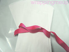 50 5x7 Cute White Kraft Paper Bags, Craft Bags, Wedding Party Bags, Gift Bags