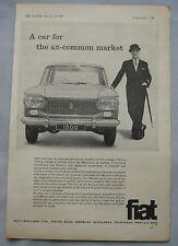 1962 Fiat 1500 Original advert