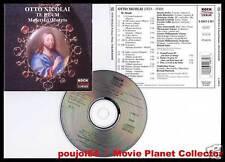 "NICOLAI Otto ""Te Deum - Motets"" (CD) R.Bader 1996"