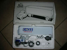 First Gear Mack 1960 Model B-61 Tractor & Trailer- Eagle Snacks #4   (CA 3)