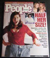 People Magazine January 15, 2001-Carnie Wilson