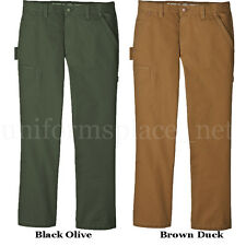 Work Pants Relaxed Straight Fit Carpenter Jean Dickies DU248 Cotton Canvas Pant