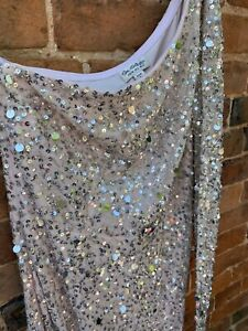 Miss Selfridge One Sleeved Size 10 Ladies  Dress, Party Occasion - Wedding, Prom