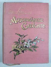 DETLEV von LILIENCRON: AUSGEWÄHLTE GEDICHTE, 1904
