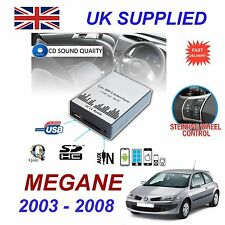 Para Renault Megane MP3 Sd Usb Cd Aux Audio Adaptador Digital Módulo de cambiador de CD 8pn