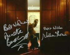 More details for doctor who autograph: william thomas & annette badland (boom town) signed photo