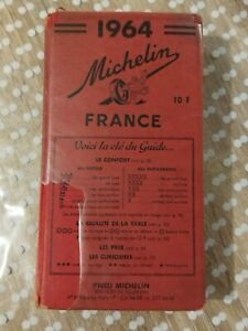 Guide MICHELIN - FRANCE 1964
