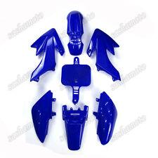 Blue Plastic Fairing Fender Kits For Honda SDG Piranha CRF50 XR50 Pit Dirt Bike