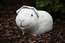 Stone Figure Guinea Pig Helmut Frost Resistant Weatherproof Garden Decor Hamster