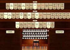 Virtual pipe organ for Hauptwerk Schantz 23 rank 2 manual Chapel organ