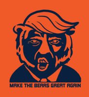 Make The Bears Great Again shirt Chicago President Donald Trump MAGA Trubisky